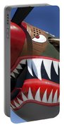 Flying Tiger Plane Portable Battery Charger