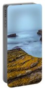 Fog And The Sea Portable Battery Charger
