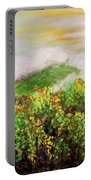 Fog On The Vines Portable Battery Charger