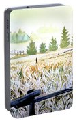 Foggy Field Portable Battery Charger
