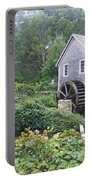 Foggy Stony Brook Grist Mill Cape Cod Portable Battery Charger