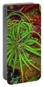Foliage Abstract 3698 Portable Battery Charger