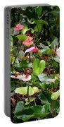 Foliage And Flowers Portable Battery Charger