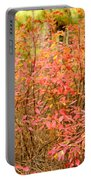 Foliage On Fire Portable Battery Charger
