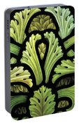 Foliage Pattern Portable Battery Charger