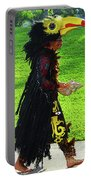 Folk Costume In Mexico 2 Portable Battery Charger