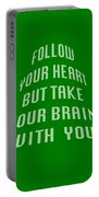Follow Your Heart And Brain 5485.02 Portable Battery Charger