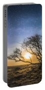 Folly Beach Milky Way Panorama Portable Battery Charger
