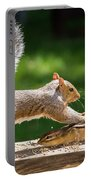 Food Fight Squirrel And Chipmunk Portable Battery Charger