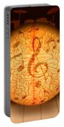 Food For Brain And Peace For Soul Portable Battery Charger
