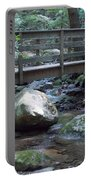 Foot Bridge Over Notch Brook Portable Battery Charger