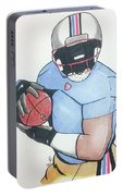 Football Player Portable Battery Charger