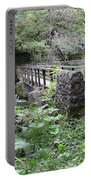 Footbridge At Millers Dale Portable Battery Charger