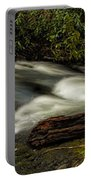 Footbridge Over Raging Moccasin Creek Portable Battery Charger