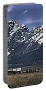 Foothills Of The Tetons Portable Battery Charger