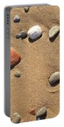 Footprint On Sand Portable Battery Charger