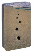 Footprints In The Sand ... Portable Battery Charger