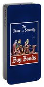 For Peace And Security - Buy Bonds Portable Battery Charger