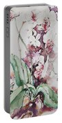 For The Love Of Orchids Portable Battery Charger