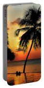 For You. Dream Comes True. Maldives Portable Battery Charger by Jenny Rainbow