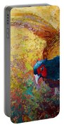 Foraging Pheasant Portable Battery Charger