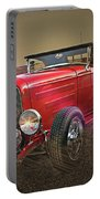Ford Coupe Cartoon Photo Abstract Portable Battery Charger