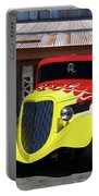 Ford Flaming Hot Rod Portable Battery Charger