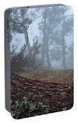 Forest And Fog In Serra Da Estrela Portable Battery Charger