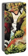 Forest Brook By August Macke Portable Battery Charger