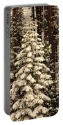 Forest Christmas Tree Portable Battery Charger