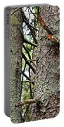 Forest Corrosion Bark Portable Battery Charger