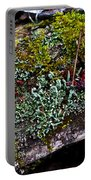 Forest Floral Delight Portable Battery Charger