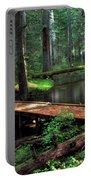 Forest Foot Bridge Portable Battery Charger