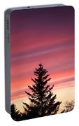 Forest Grove Sunset Portable Battery Charger