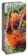 Forest In Color Portable Battery Charger