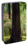 Forest In Portland Japanese Garden Portable Battery Charger
