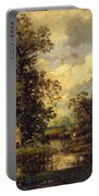 Forest Landscape 1840 Portable Battery Charger