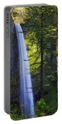 Forest Mist Portable Battery Charger by Chad Dutson