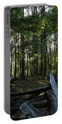 Woods At Yorktown Portable Battery Charger