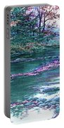 Forest River Scene. L B Portable Battery Charger