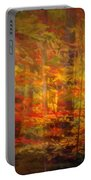 Colorful Forest, Smoky Mountains, Tennessee Portable Battery Charger