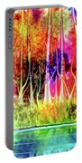 Forest Stream Portable Battery Charger by Darren Cannell