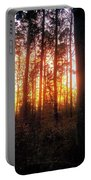 Forest Sunset Portable Battery Charger
