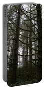 Forest Through The Trees Portable Battery Charger