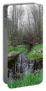Forest Trees Creek Pathway Portable Battery Charger
