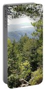 Forest View From Mt Tamalpais Portable Battery Charger
