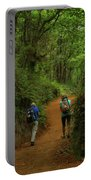 Forest Walkers, El Camino, Spain Portable Battery Charger