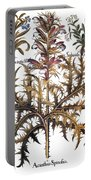 Forget-me-not & Acanthus Portable Battery Charger