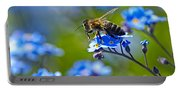 Forget Me Not Bee 2 Portable Battery Charger
