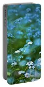 Forget-me-not Flower Patch Portable Battery Charger